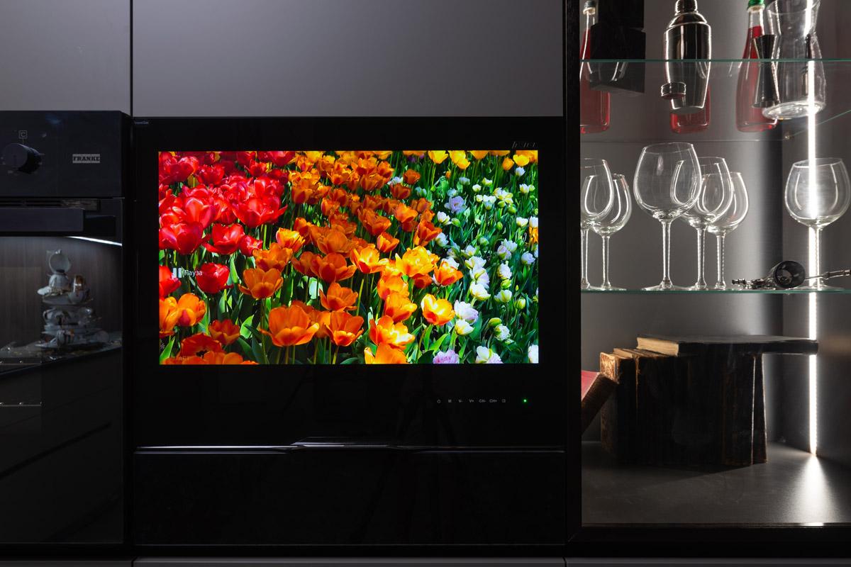 встроенный телевизор для кухни AVEL